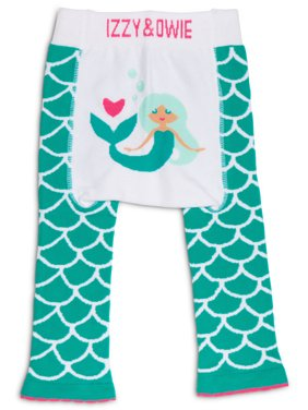 Izzy & Owie 6-12 Month Seafoam Mermaid Leggings
