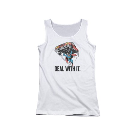 Dco Deal With It Juniors Tank Top Shirt](Top Deals)