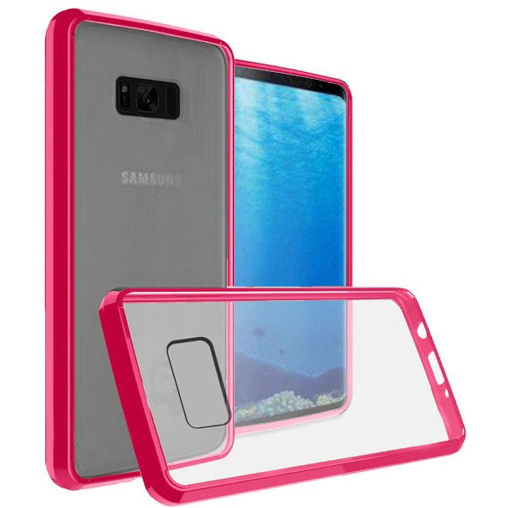 Samsung Galaxy S8 Case - Wydan TPU Bumper Gummy Clear Protective Case Slim Cover Clear