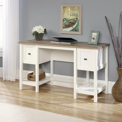Sauder Cottage Road Desk, Soft White