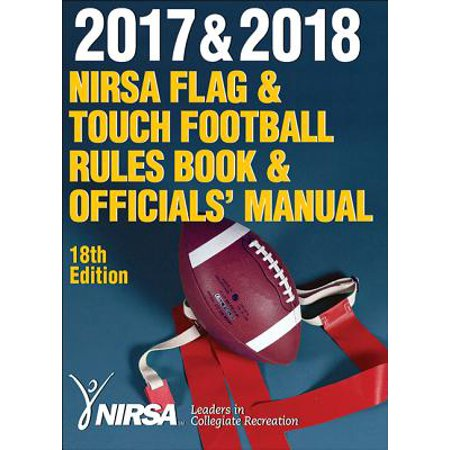Official Halloween Date 2017 (2017 & 2018 NIRSA Flag & Touch Football Rules Book & Officials' Manual 18th)