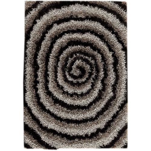 MA Trading M.A.Trading Hand-tufted Landscape Grey/ Black Area Rug (5'2 x 7'6) (India)
