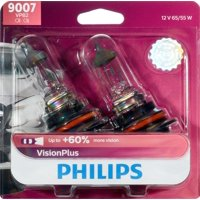 Philips Visionplus Headlight 9007, Px29T, Clear, Always Change In Pairs!