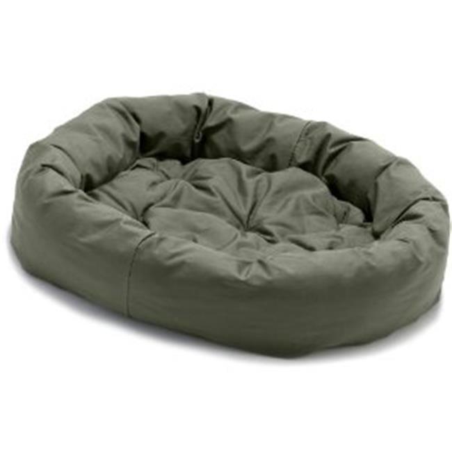 Image of Dog Gone Smart Pet Products DGSDO3505 Dog Gone Smart Donut Dog Bed- 35 inch- Olive