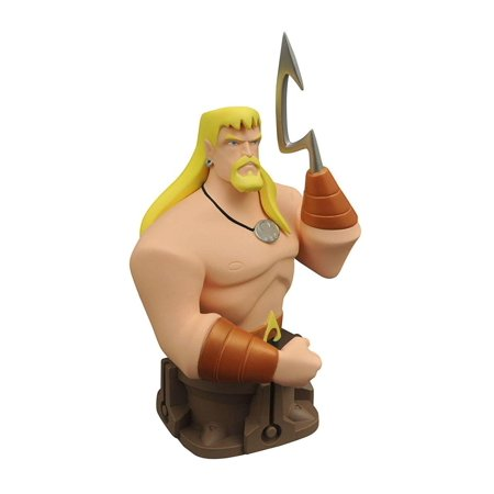 Diamond Select Toys Justice League Animated Animated Series Aquaman Resin Bust ()
