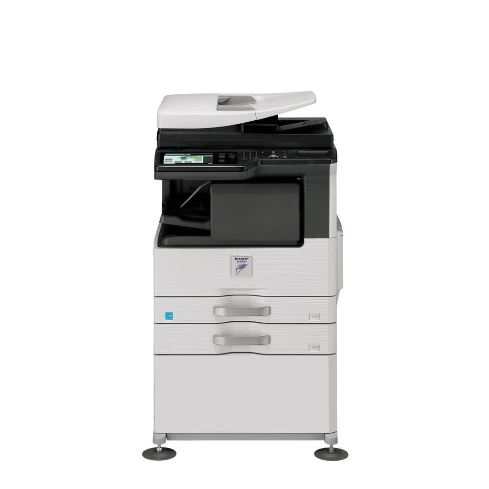 Refurbished Sharp MX-M442N A442 Monochrome Laser Multifunction Copier -  442ppm, Print, Copy, B/W & Color Scan, Auto Duplex, Network, 442 x 442 dpi,  42