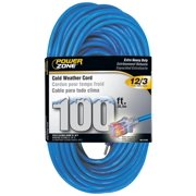 Power Zone ORCW511835 Cord 100 Ft. 12 By 3, Glacier