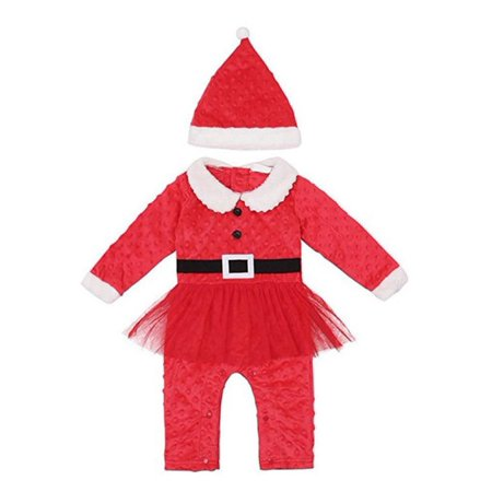 30a389ad959f everbest - New baby romper newborn boys girls Christmas Santa Claus ...