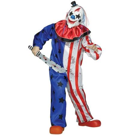 Clown Boys Child Halloween - Halloween Movie Clown Costume