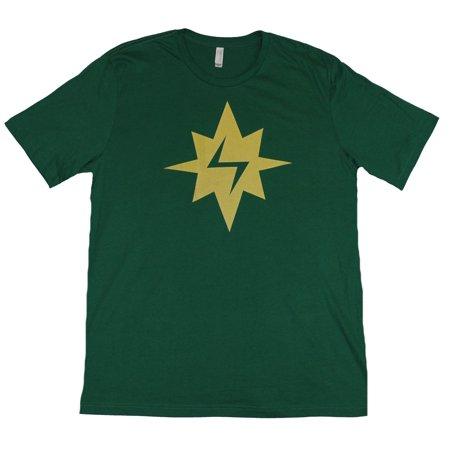 Ms Marvel Miss Mens T-Shirt -  Kamala Khan Spark Logo Costume Front
