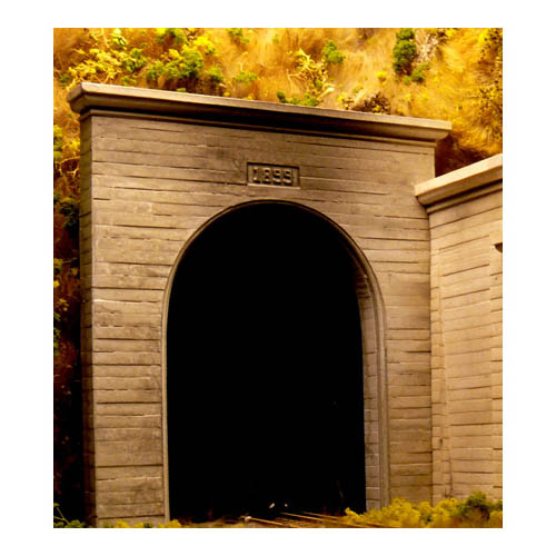 N Single Concrete Tunnel Porta Multi-Colored