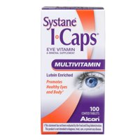 ICaps Multivitamin Eye Vitamin and Mineral Support, Coated Tablets, 100 tablets