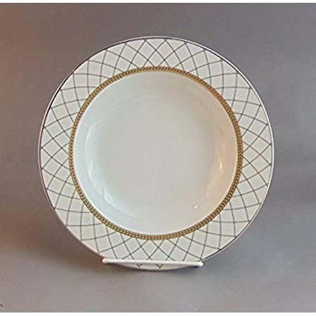 Black Rimmed Dinner Plate - 10