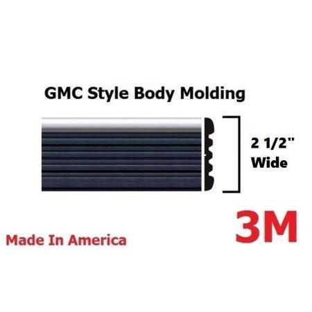1988-1999 GMC Sierra and C/K Pickup Trucks Side Body Trim Molding