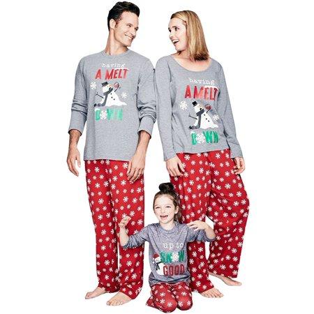 d9be5e4d8276 STARVNC 2 Piece Christmas Matching Family Pajamas Set Home Pajamas Sleepwear  Suit - Walmart.com