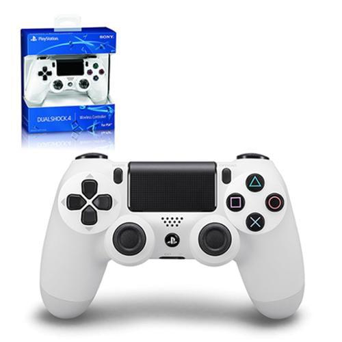PS4 - Controller - Wireless - DualShock 4 - New - Glacier White (Sony)