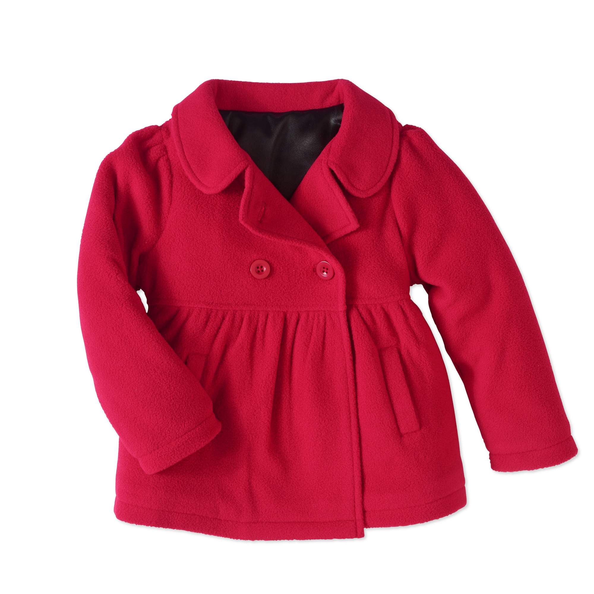 Healthtex Baby Toddler Girls' Essential Peacoat Jacket