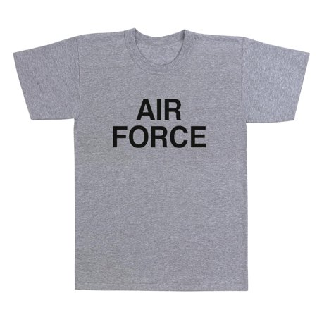 Air Force Military gray Physical Training T-Shirt