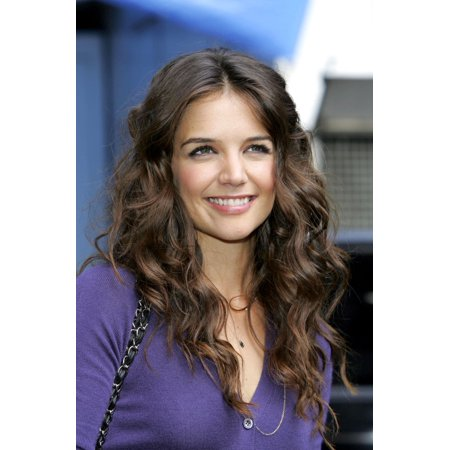 Katie Holmes Out And About For The Late Show With David Letterman The Ed Sullivan Theater New York Ny June 09 2005 Photo By Gregorio Binuyaeverett Collection Photo Print