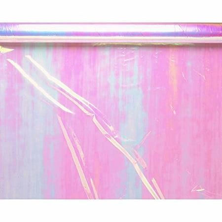 cello wrap 30 inches x10-iridescent - Iridescent Cellophane