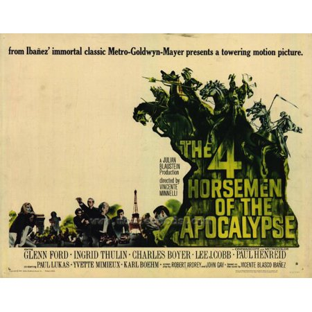 The Four Horsemen of the Apocalypse - movie POSTER (Half Sheet Style B) (22