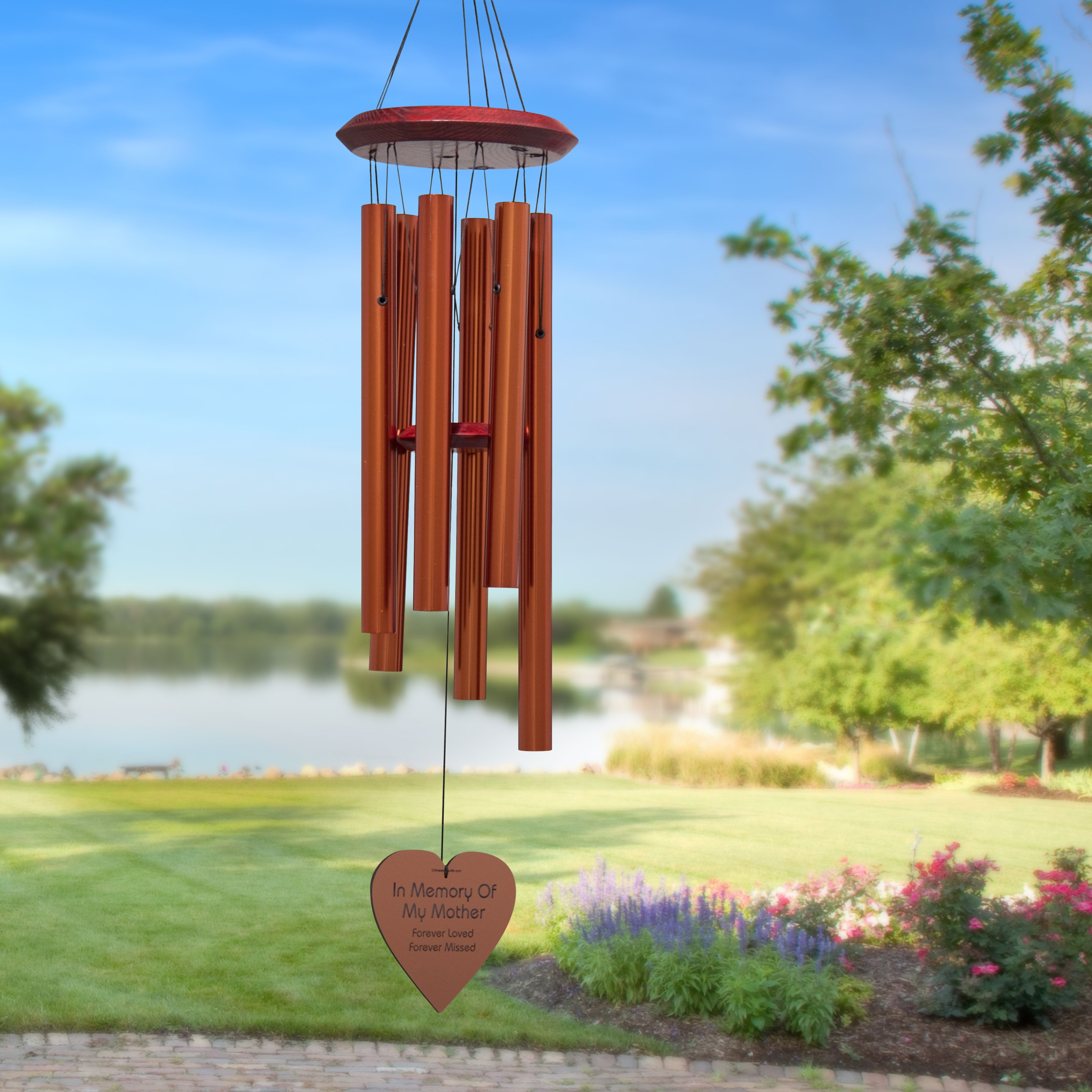 Chimes of Your Life - Mother - Heart - Memorial Wind Chime