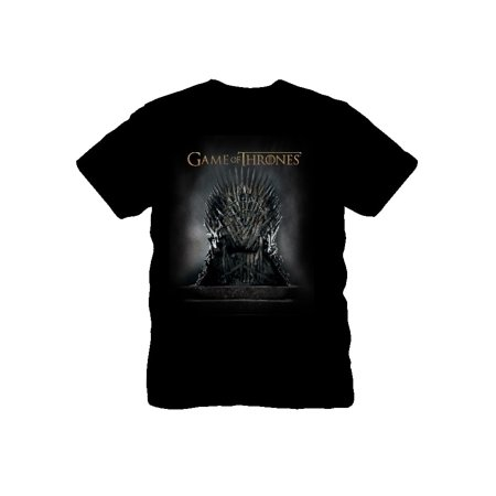 Game of Thrones Iron Throne Men's Graphic Tee, up to size