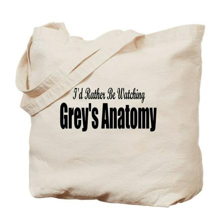 CafePress - Grey's Anatomy: - Natural Canvas Tote Bag, Cloth Shopping Bag - Cloth Shopping Bags