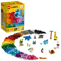 Deals on LEGO Classic Bricks and Animals 11011 Creative Toy 1500 Pieces
