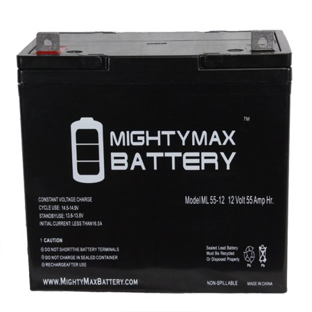 12V 55Ah Battery Replacement for Balder Junior Scooter