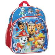 "Mini Backpack - Paw Patrol - Chase Marshall Rubble Rocky Skye 10"" New 009632"