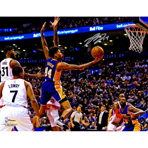 """Brandon Ingram Los Angeles Lakers Autographed 8"""" x 10"""" Lay-Up Photograph"""