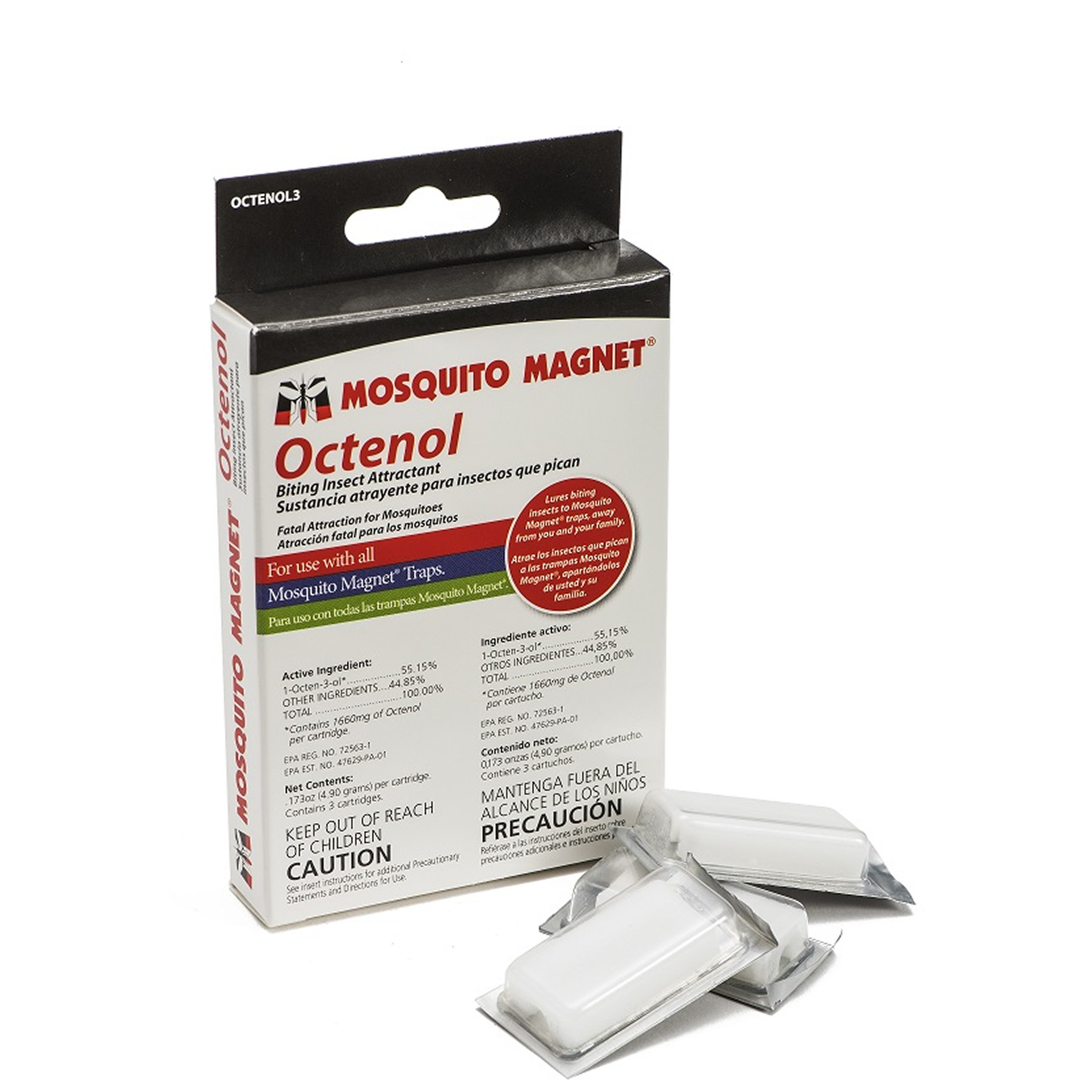 Mosquito Magnet 3-Pack Octenol Attractant