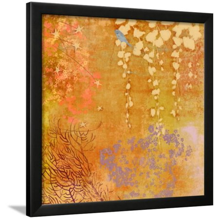 Ginger Fall III Framed Print Wall Art By Evelia Designs