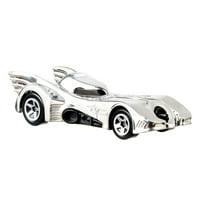 Hot Wheels DC Batman Batmobile Collector Vehicle, Silver