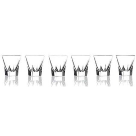 Rcr Fusion Crystal Shot - Personalized Shot Glasses Cheap No Minimum