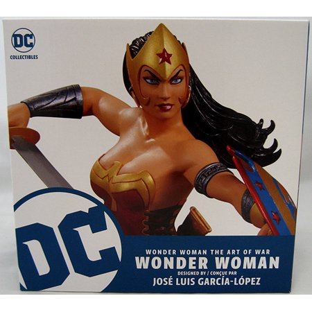 Wonder Woman Art Of Wat 6 Inch Statue Figure - Wonder Woman By Garcia Lopez - image 1 of 2