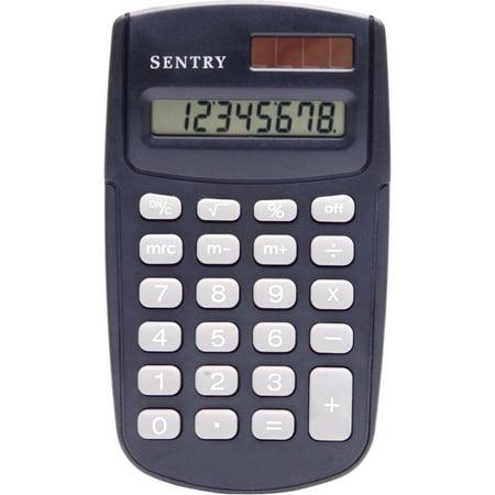 Sentry Dual Power Calculator  Black