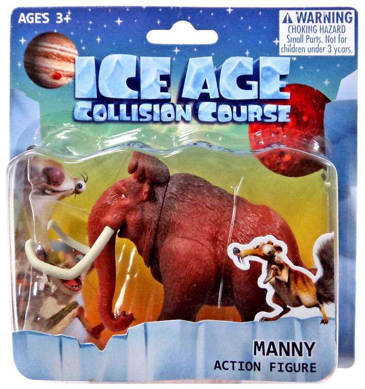 Sid Action Figure movie toy NEW Ice Age Collision Course Factory Sealed
