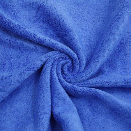 2pcs 400g/m2 65x33cm microf. Couleur Café Bleu-Serviette Lavage Voiture - image 4 de 5