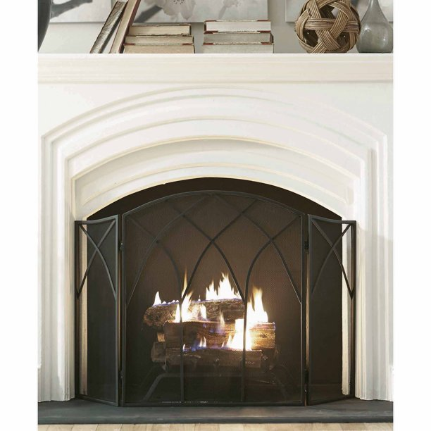 Pleasant Hearth Gothic Fireplace Screen, How To Repair Fireplace Screen