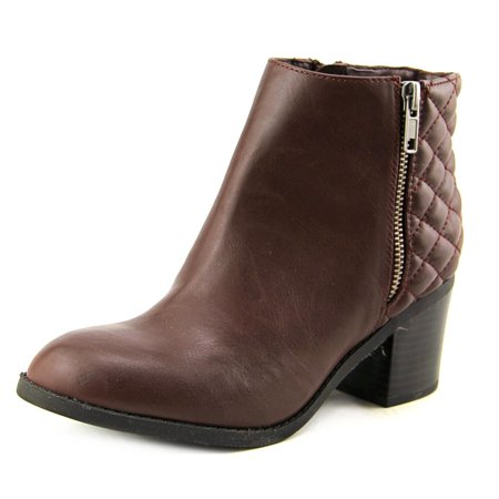 Mia Knoxx Women  Round Toe Synthetic Brown Ankle Boot
