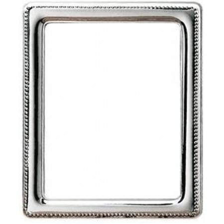 Beaded Fine Sterling Silver 5x7 Frame By Reed Barton 5x7