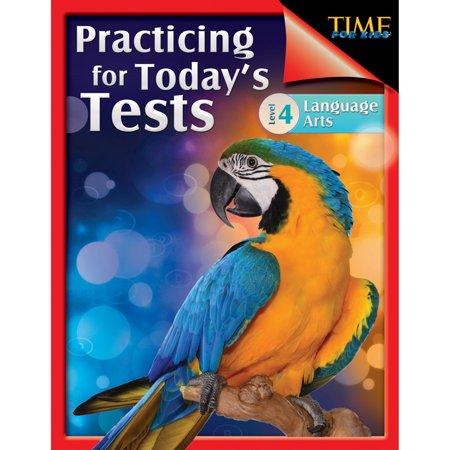 Shell Education 51437 Time For Kids - S'entra-ner pour les enfants du jour Tests de la langue, 4e ann-e - image 1 de 1