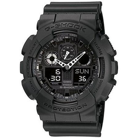 G-Shock Analog Digital Blackout Military Watch