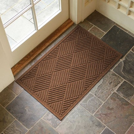 Large Entryway Rug With Non Slip Rubber Backing Front Door Mat