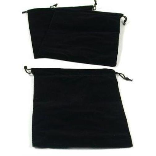 3 pouches black velvet drawstring jewelry bags 5