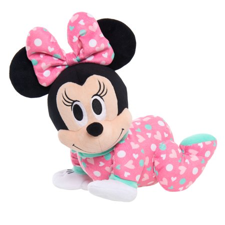 Disney Baby Musical Crawling Pals Plush - Minnie Mouse - Cheerleader Minnie Mouse Doll