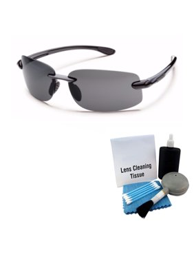 99026cb4fb Product Image Suncloud Excursion Polarized Sunglasses (Black Frame and Gray  Lens) + Cleaning Kit