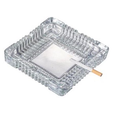 Visol VASH313 Glass 4 Cigar Rest Ashtray